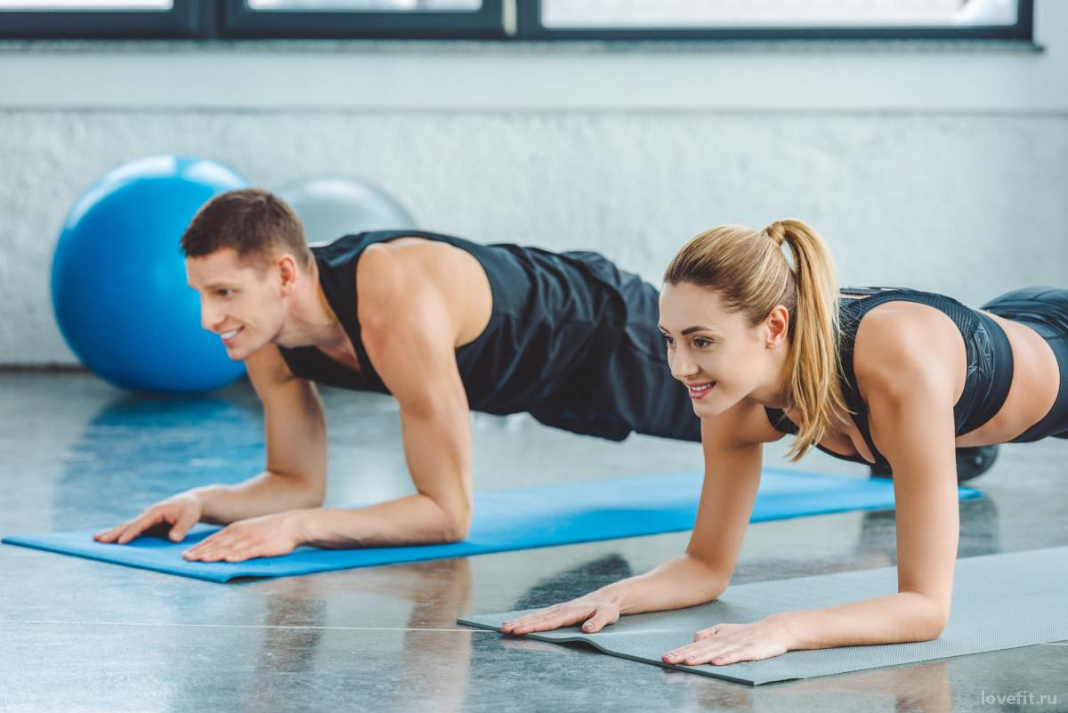 Упражнение планка: техника и польза