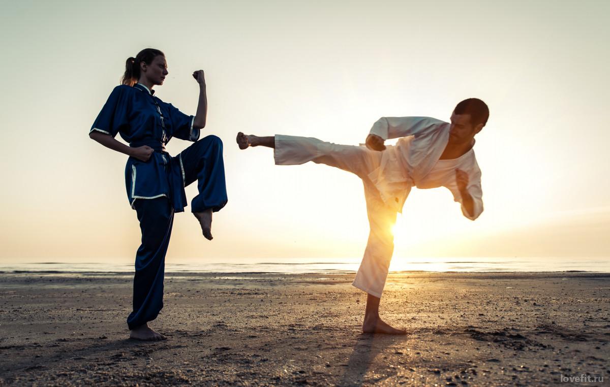 Боевые искусства в фитнес клубах